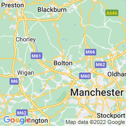 Map of Bolton