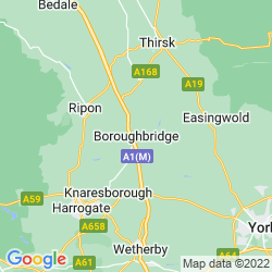 Map of Boroughbridge