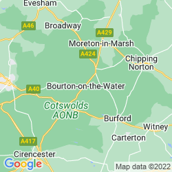 Map of Bourton