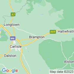 Map of Brampton