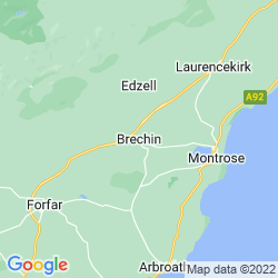 Map of Brechin