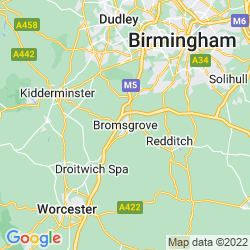 Map of Bromsgrove