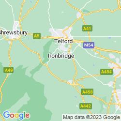 Map of Broseley
