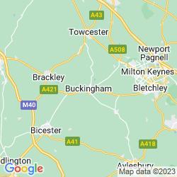 Map of Buckingham