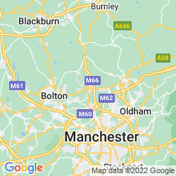 Map of Bury