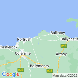 Map of Bushmills