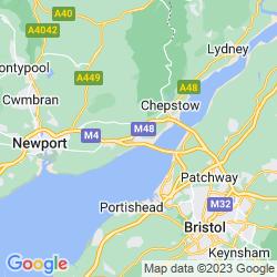 Map of Caldicot
