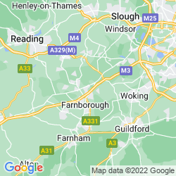 Map of Camberley