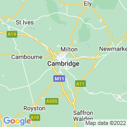Map of Cambridge