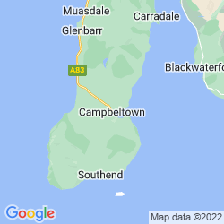 Map of Campbeltown