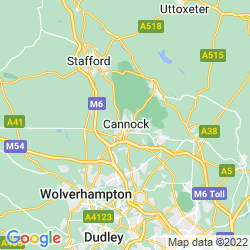 Map of Cannock