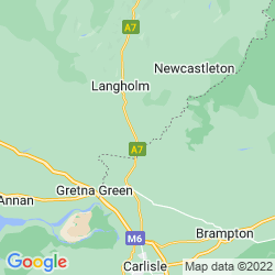 Map of Canonbie