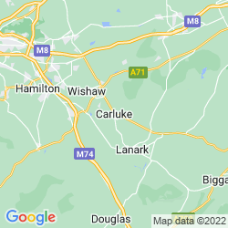 Map of Carluke