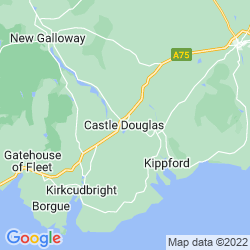 Map of Castle Douglas