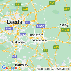 Map of Castleford