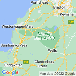 Map of Cheddar