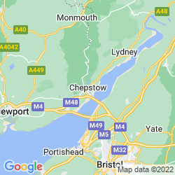 Map of Chepstow