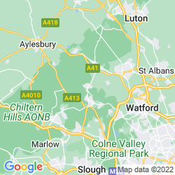 Map of Chesham