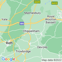 Map of Chippenham