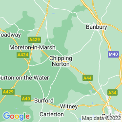 Map of Chipping Norton