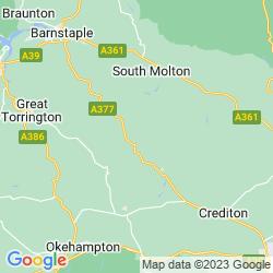 Map of Chulmleigh