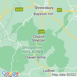 Map of Church Stretton