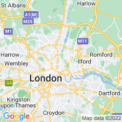 Map of Clapton