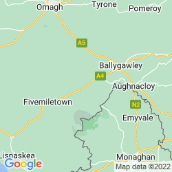 Map of Clogher