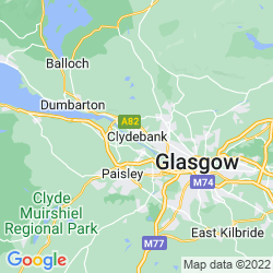 Map of Clydebank