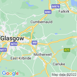 Map of Coatbridge
