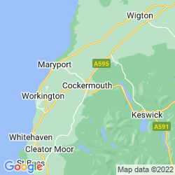 Map of Cockermouth