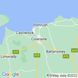 Map of Coleraine