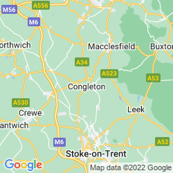 Map of Congleton