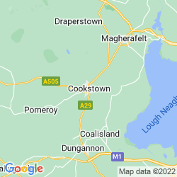 Map of Cookstown