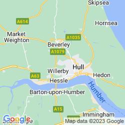 Map of Cottingham