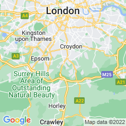 Map of Coulsdon