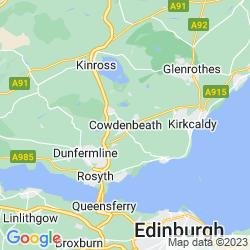 Map of Cowdenbeath