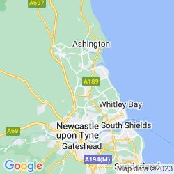 Map of Cramlington