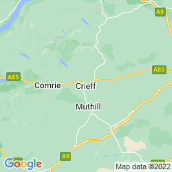 Map of Crieff
