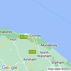 Map of Cromer