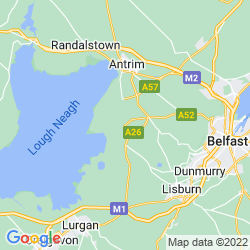 Map of Crumlin