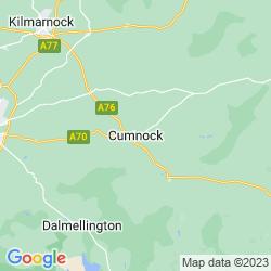 Map of Cumnock