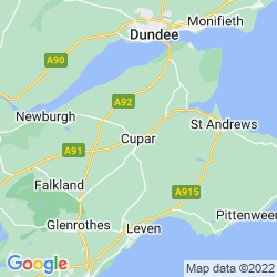 Map of Cupar