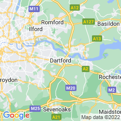 Map of Dartford