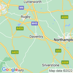 Map of Daventry