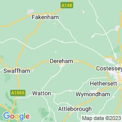 Map of Dereham