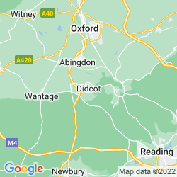 Map of Didcot