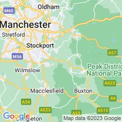 Map of Disley