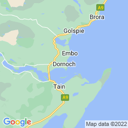 Map of Dornoch