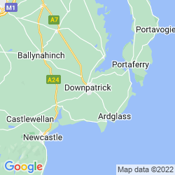 Map of Downpatrick